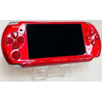 Sony Playstation Portable PSP - 3000 Metallica Red
